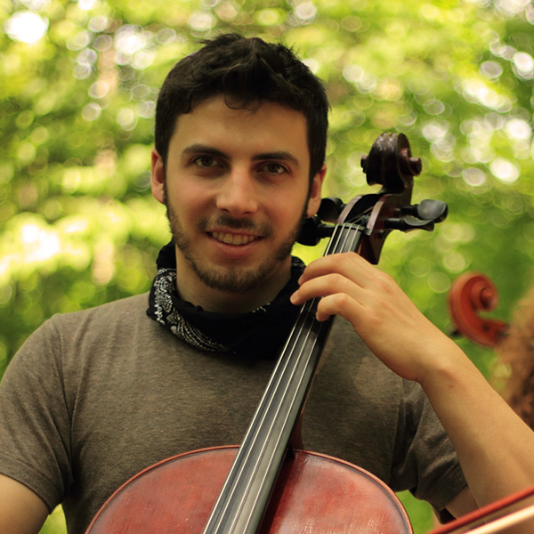 Eli Bender: cello, fiddle & voice